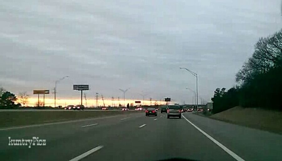 Highwayphotos Highwayphotography Sky And Clouds Drivingshot Taking Photos InMotion Driving Dashcam