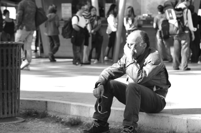 Blackandwhite Person Black & White Black And White Urban People Black And White Photography