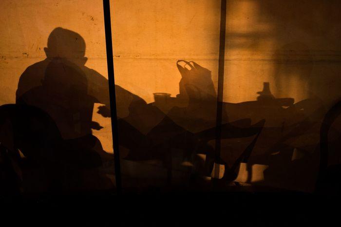 Šabac Fair 2018 Shadow Men Silhouette Real People Focus On Shadow People Sunlight