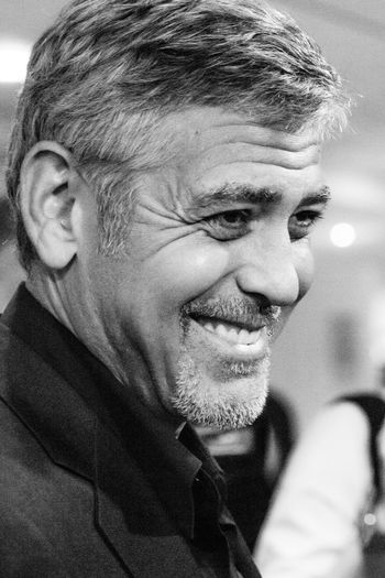 George Clooney, what else ? Cannes Celebrities Celebrity Clooney Close-up Festival George Clooney Handsome Men One Person Portrait Real People