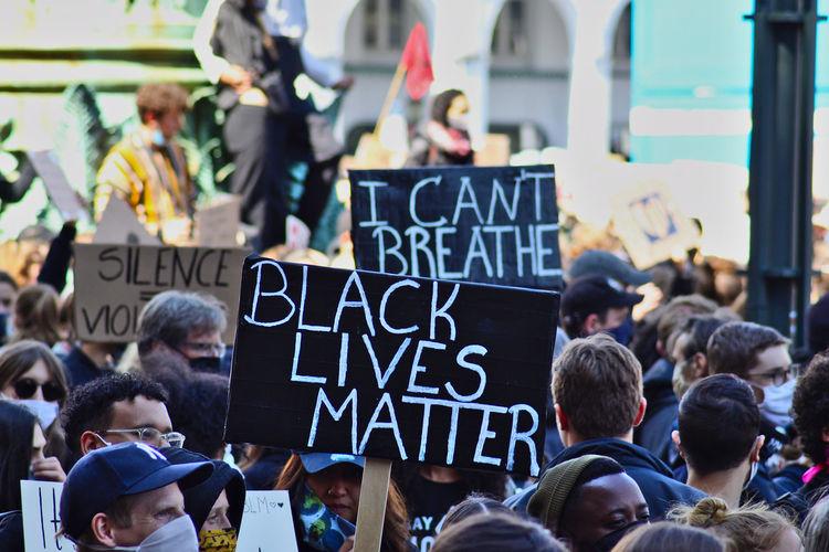 Demonstration blm