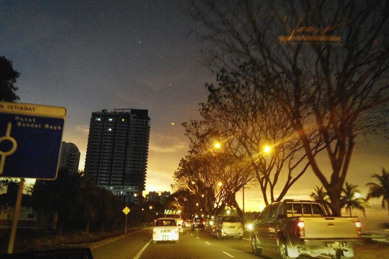 Golden sunset. Just one of those times when the light and the night mingle in a certain way, creating something magical. Photos Sunsets Kk City Twominutehipster Scenery This Is My Life