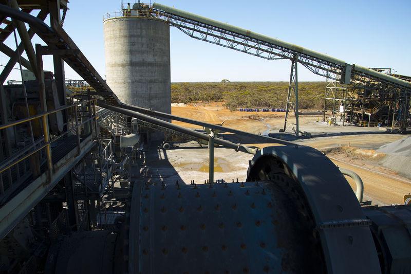 Mining Process Plant Mining Mine Underground Process Plant Mineral Gold Factory
