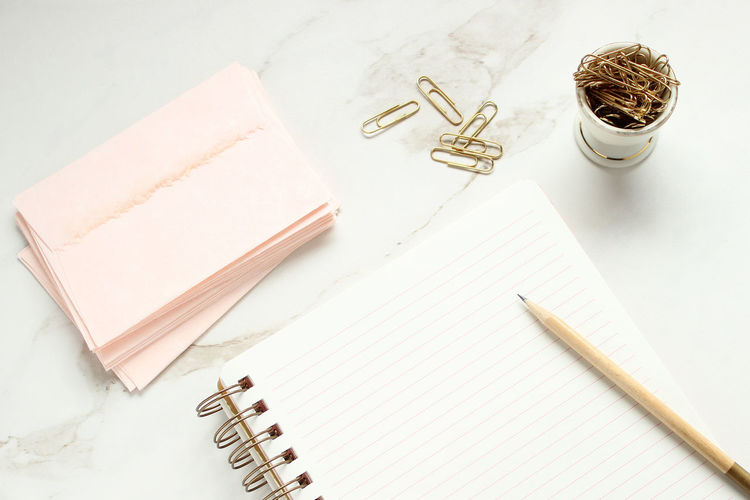 Desk top notes Backgrounds Blank Notebook Blank Paper Business Concept Correspondence Desk Top Document Envelopes Letter Letter Writing List Marble Memo Mock Up Office Open Notebook School Stationary Studying Styled Supplies To Do Work Place Work Space
