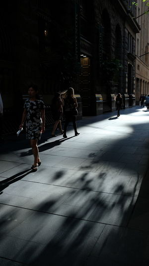 """""""In the way of glorious light"""" Out Of Camera Fujifilm_xseries Reflections Light And Shadow Street Photography People Watching City Full Length Shadow City Street Street Scene Pedestrian Rush Hour Capture Tomorrow"""