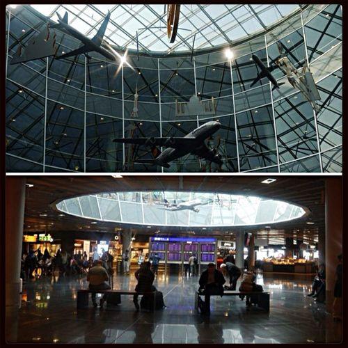 Airport Germany Frankfurt Airplanes