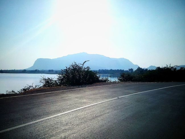 Sky Nature Clear Sky No People Outdoors Water Beauty In Nature Close-up Mountain Pavagadh Wet Sunset Day Beach