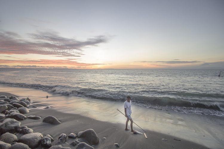 ampenan beach