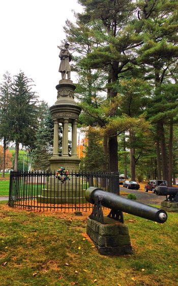 Soldiers' Monument ... Seymour, CT Tadaa Community Monument Statue Neo Classical Architechture Autumn Outdoors Built Structure American Civil War Artillery Growth