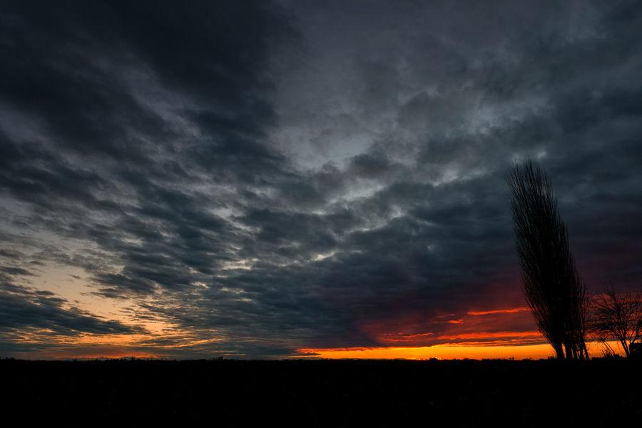 Sunset sky Dusk Sky Clouds Countryside Dusk Landscape Sky Sunset Sunset Sky