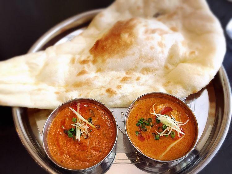 インドカレー@マハラジャ Carry India インドカレー カレー チキンカレー エビカレー ランチ 広島 Curry