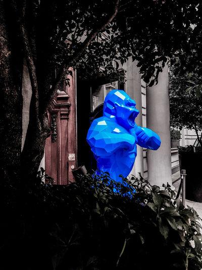 You shall not pasd Nicholas Nelson Lampwick Fresh On Eyeem  London Street Photography City Of London King Kong Xavier Veilhan