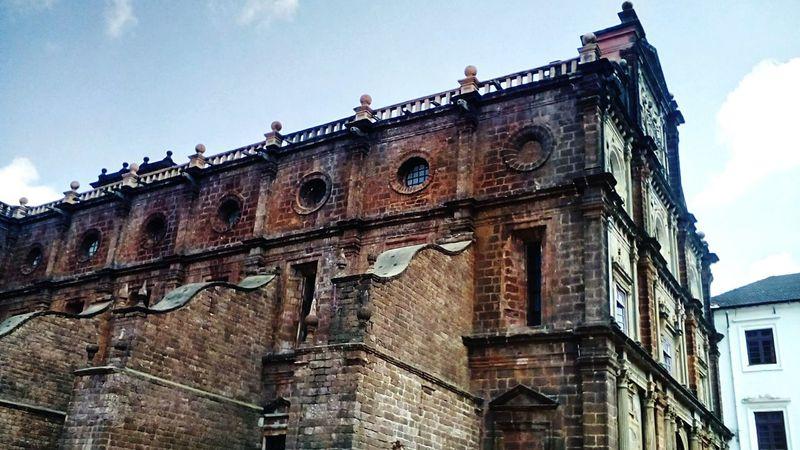 Old church,goa43 Golden Moments Historical Monuments Churches Of India Goa India Showcase July