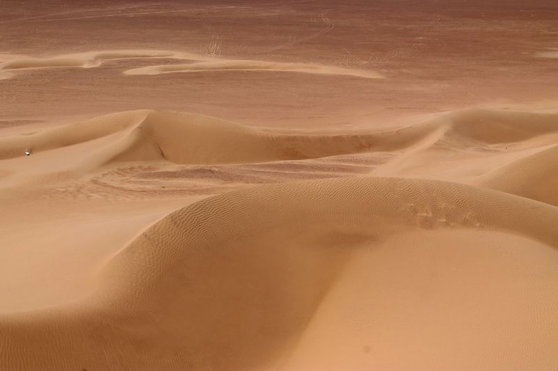 Scenic View Of Sahara Desert