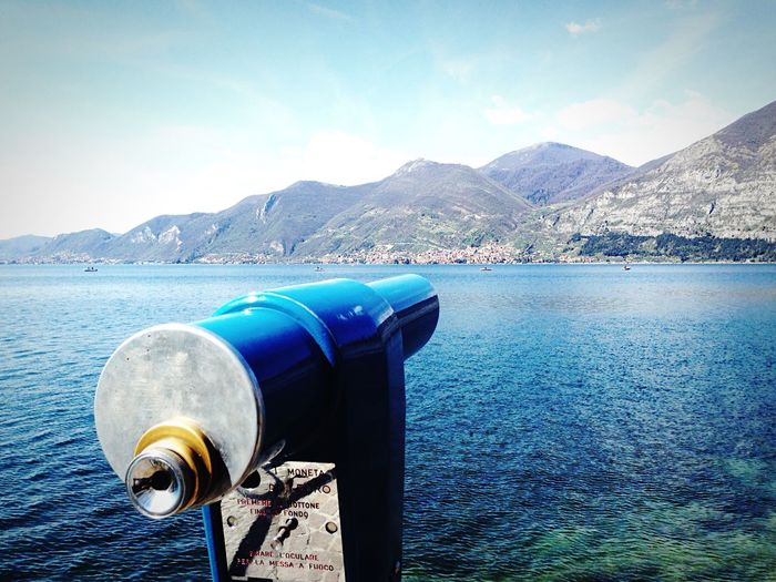 South Iseo Lake Telescope Iseo Lake Iseo Lake Lake View The Great Outdoors With Adobe The Great Outdoors - 2016 EyeEm Awards