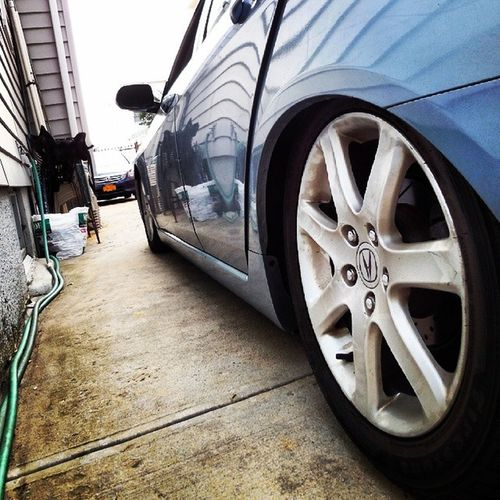 @humblestateofmind riding low @imperialstance Acura Tsx Carporn GetLowAsShit ouch WatchForPotholes