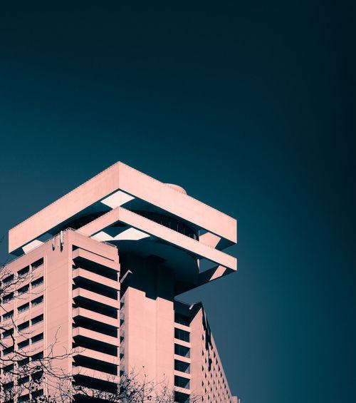 Architecture_bw Split Toning