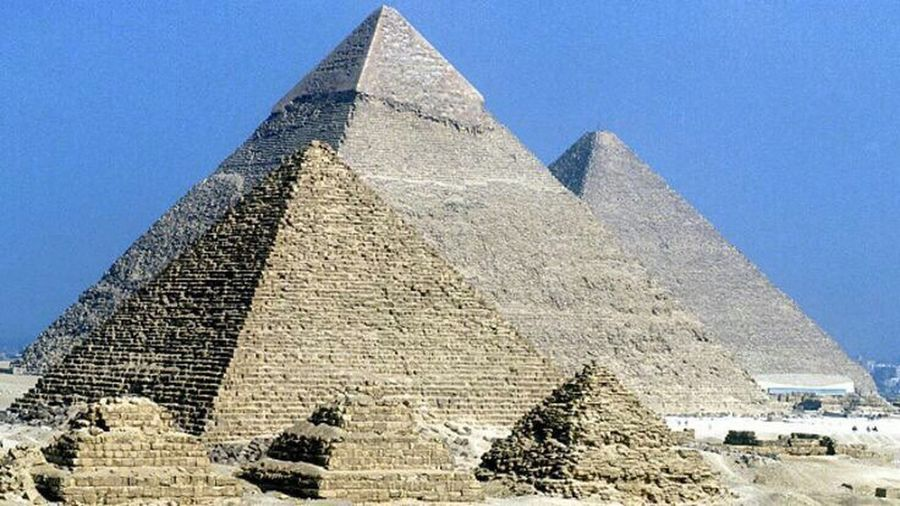 Ancient Egyptian Pyramids Giza Pyramids Of Egypt River Nile Luxor, Egypt