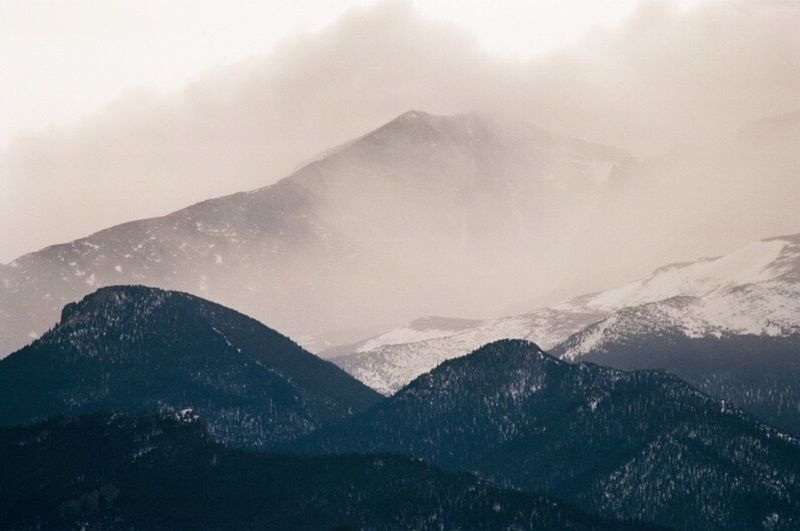 Longs peak Landscapes With WhiteWall Colorado Longs Peak Estes Park, CO