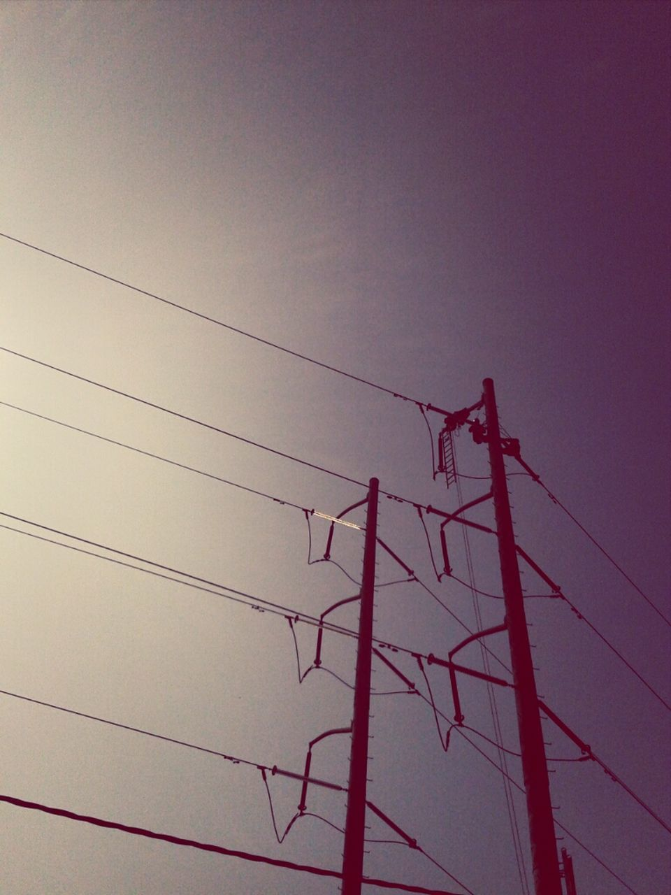 cable, electricity, connection, power supply, power line, low angle view, electricity pylon, no people, fuel and power generation, silhouette, sky, technology, sunset, day, outdoors, nature, telephone line