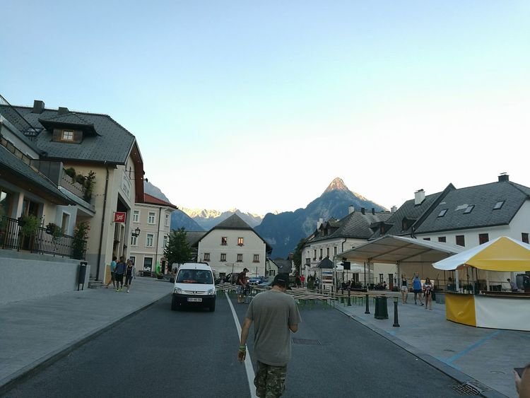 Bovec Center Sunset Hometown Evening Sky Summertime Simplebeautiful