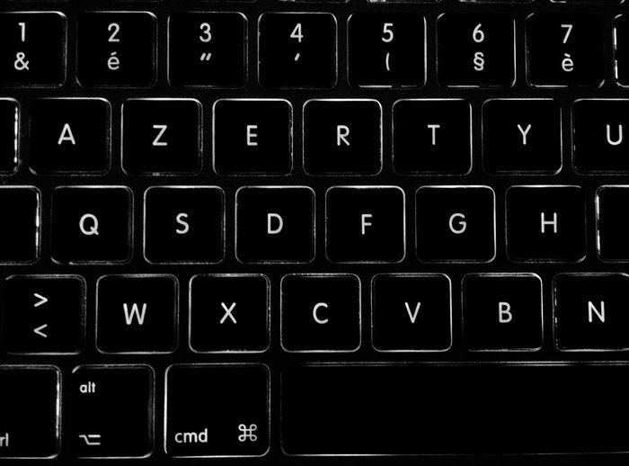 Day 153 - Working Working Keyboard Blackandwhite 365project 365florianmski Day153