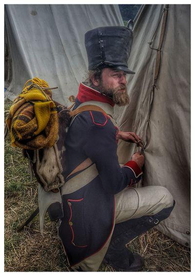 Soldier Mobile Photography Waterloo 18emedeligne Empire Napoleonicwar Napoleonic Reenactment Napoleon Wars Portrait One Person