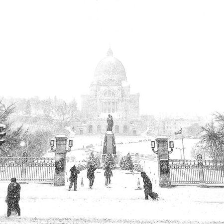 The Week Of Eyeem Architecture Snow Winter Montréal
