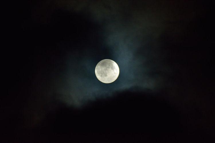 Cloud Full Moon