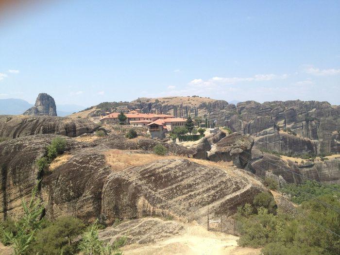 AGIA TRIADA MONASTERY FROM METEORA, GREECE