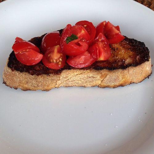 Italian Food Bruschetta