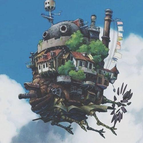 Ghibli Howl's Moving Castle