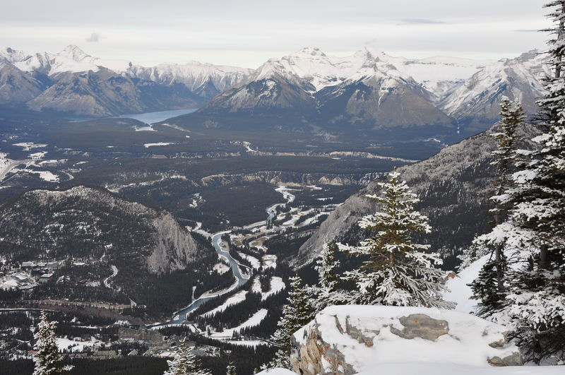 On top of Banff