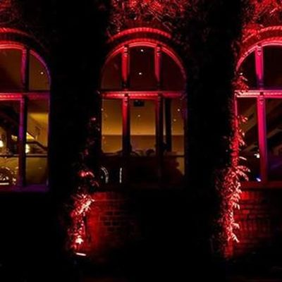 Recklinghausenleuchtet Recklinghausen Nacht Langzeitbelichtung Rot Nachtfotografie
