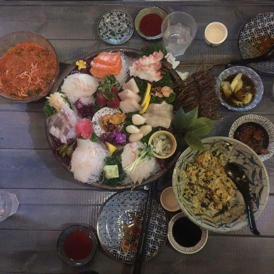 Sasimi Fish Japanese Food Japanese Sake Sake Time