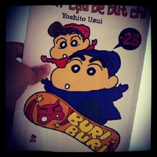 Shin Manga Shinosuke Love fun cute