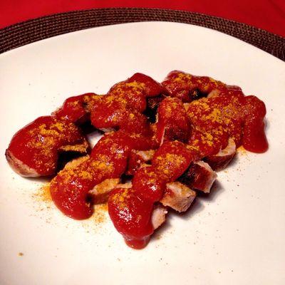 Homemade Currywurst... #küchenparty