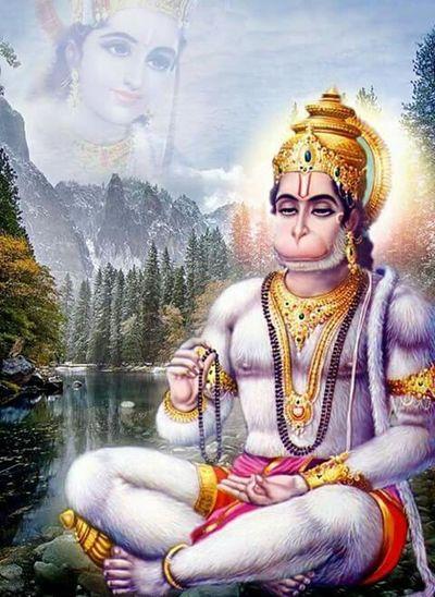 Happy Birthday! Happyness😊 Eyembestpics EyemBestEdits Lordhanuman LordRAMA Great View Mythological Creature Mythological MyThoughtS❤ Respect And Honor Hanumanji Rama Jai Bajrangbali Awesome_shots Eyembest EyemloverEyemlover