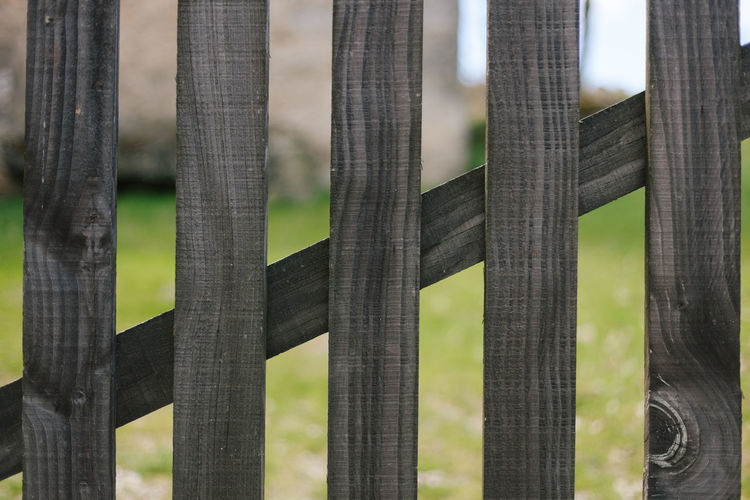 Wood Wood - Material Wooden Fence Gate LINE Barrier Focus On Foreground No People Boundary Day Nature Protection Security Safety Full Frame Architecture Built Structure Close-up Outdoors Backgrounds Lines And Shapes Lines, Shapes And Curves Lines&Design Lines