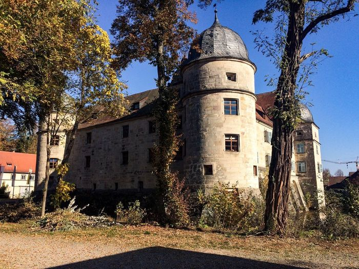 Castle Mitwitz Architecture Built Structure Building Exterior Building Sky Nature Tree Clear Sky Outdoors Old Day Tower History