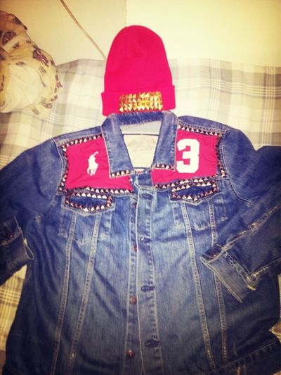 MY CREATION POLO JEAN JACKET
