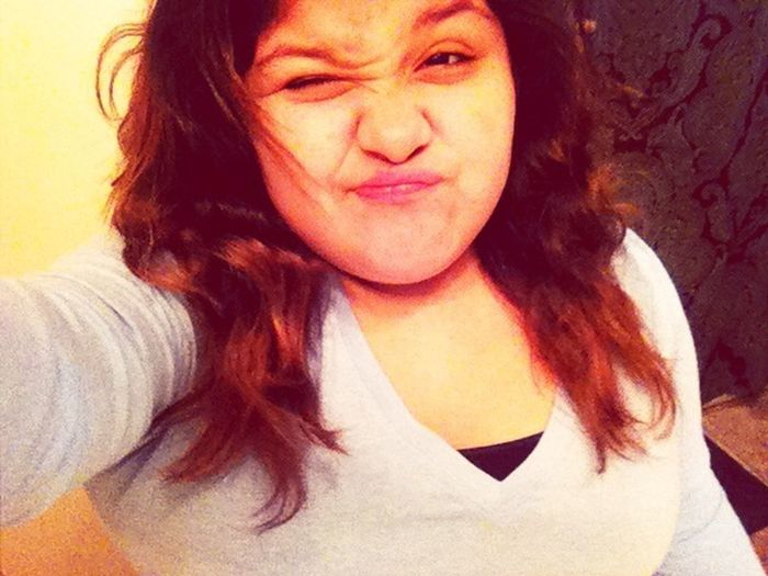 Im Cute , When I Take Pictures Like This Lol . Jk