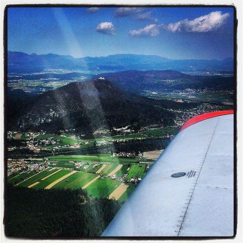 Smarnagora from above Flying Beautifulday Igslovenia Slovenia