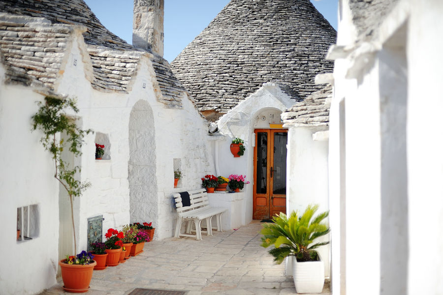 Trulli houses in Alberobello, Apulia, Italy Apuglia Architecture Building Exterior Built Structure Day Destination Europe House Italy Puglia Tourism Touristic Destination Travel