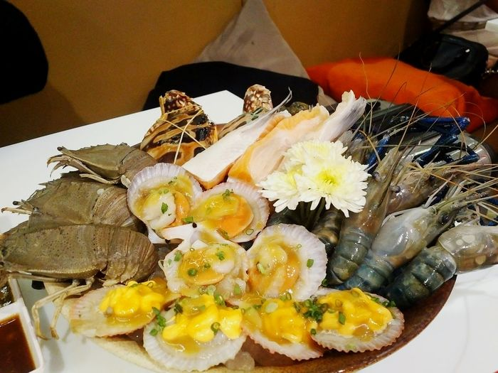 Healthy Eating Food And Drink Food Indoors  Seafood Freshness Plate
