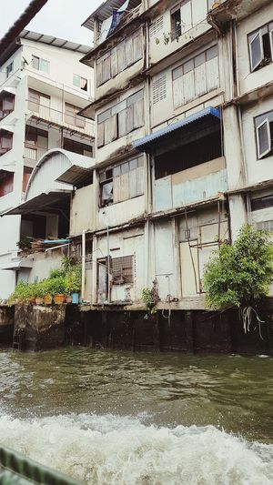 dirty Bangkok Poor  Dirty Window Architecture Building Exterior Built Structure Building Canal Gondola Grand Canal - Venice