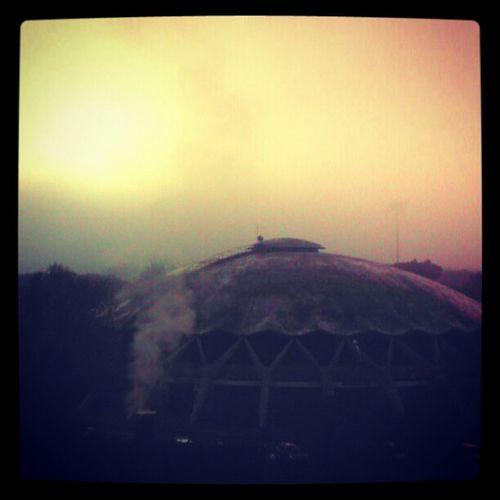 Ombre e nebbia Roma Villaggioolimpico Nebbia
