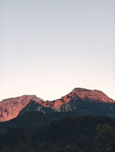 REDLIGHT. Sky Scenics - Nature Tranquility Mountain Beauty In Nature Tranquil Scene Environment Nature Non-urban Scene Clear Sky Landscape No People Mountain Range Copy Space Idyllic Physical Geography Day Land Outdoors