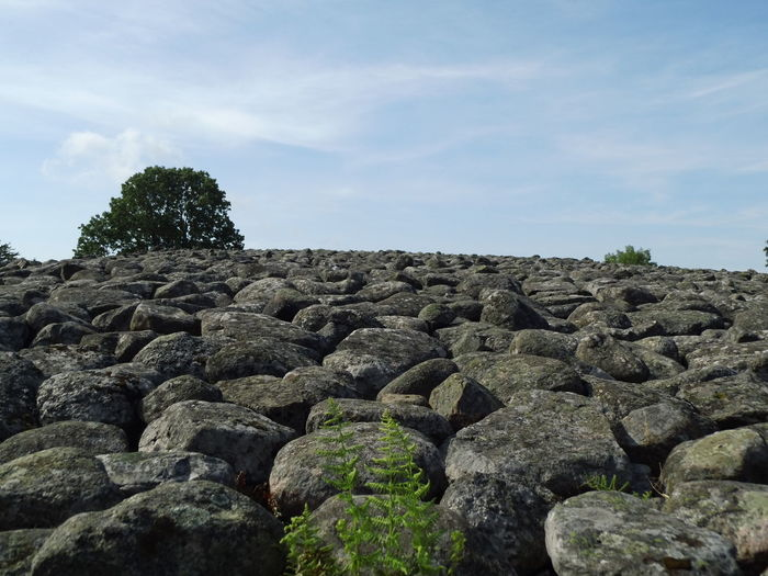 Built Structure History King's Grave Kungsgraven Large Group Of Objects Nature No People Rock - Object Stones Sweden