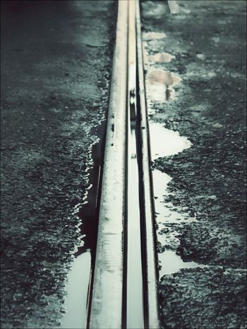 Trainway Water Reflections Old City Istiklal Caddesi Istiklal Street Minimal Something Simple